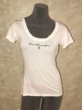 NWT Express Leo Zodiac Sign 'Heartbreaker' Graphic T-Shirt Top Tee White XS
