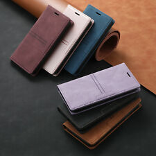 Magnetic Leather Flip Card Case Stand Cover For iPhone 11 12 Pro XS Max 6 7 8 XR