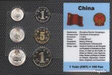 République de Chine série de monnaies fleur de coin