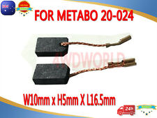 Carbon Brushes For METABO 20-024 W7-100 W7-115 W7-125 STE 105 MFE 30 GE 900 AU