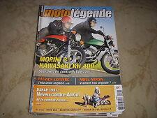 MOTO LEGENDE 175 01.2007 IMME 100 SCOOTER ZUNDAPP ARIEL ARROW KAWASAKI KH 400