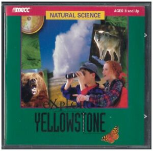 MECC Natural Science: Explore Yellowstone (Version 1.0 PC/Mac)
