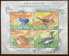 2006 INDIA MINIATURE SHEET - ENDANGERED SPECIES OF INDIA MNH