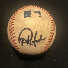 REX HUDLER SIGNED BASEBALL KANSAS CITY ROYALS ANGELS YANKEES AUTOGRAPH