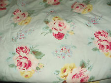 "RALPH LAUREN ""COTTAGE LANE"" FULL SIZE FITTED SHEET-100% COTTON LOVELY CONDITION"