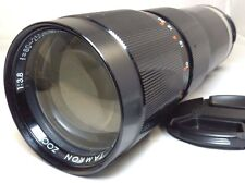 Tamron  80-250mm f3.8 Lens vintage PZ-20 Au a-matic Adapt-A-Matic