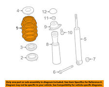 AUDI OEM 15-16 A3 Rear Suspension-Coil Spring 5Q0511115BE
