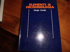 ELEMENTI DI MICROBIOLOGIA CORTINA 1983 GIORGIO CAVALLO