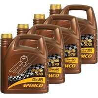 4x PEMCO 4 Liter iPOID 578 75W-80 GL-4 / GL-5 Handschaltgetriebeöl API GL-4
