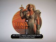 Tina Turner We Don't Need Another Hero Thunderdome Shaped Picture Disc 45 Record