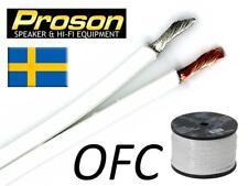 Proson White - Cavo audio di potenza per Diffusori 2 x 2,5 mm - AL METRO