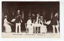 "SMART SET CADETS ""THE MUSICAL MENU"" PRESTWICK 1911: Ayrshire postcard (C54070)"