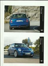 "MINI COOPER 'S' APRIL 2004 PRESS PHOTO""car brochure related""   2 OF"