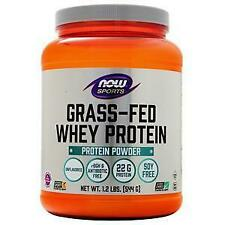 Now Grass-Fed Whey Protein Concentrate Unflavored 1.2 lbs