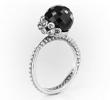 """AUTHENTIC PANDORA """"SPINEL GARDEN ODYSSEY"""" .925 Sterling Silver Ring 54 - PN1"""