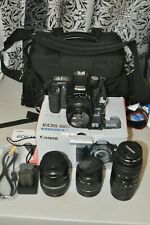 Canon EOS 50D 15.1MP Digital SLR Camera with bag and extra lens / new batteries