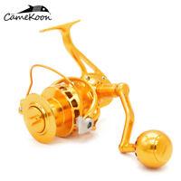 CAMEKOON Saltwater Spinning Fishing Reels Aluminium Alloy Machined Powerful Reel