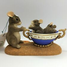 Charming Tails Dean Griff Fragile Handle With Care Figurine Mouse 89/601 Mice