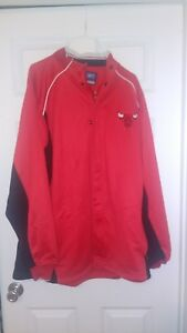 Chicago Bulls Authentic Warm Up Jacket By Reebok NWOT. Size XL