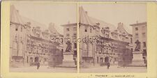 Grenoble Photo Aleo & Davanne Stereo Vintage albumine ca 1860