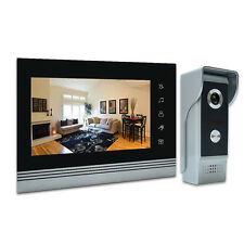 7 Inch Video Door Phone Kit aluminum alloy Camera video Intercom Doorbell System