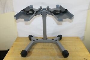 Nautilus Bowflex SelectTech 552 SERIES Dumbbell Stand / Rack with Straps