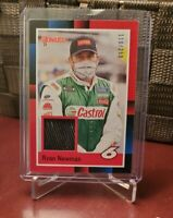 2021 Donruss Racing - RYAN NEWMAN - Race Used Material Relic - Retro Red /299