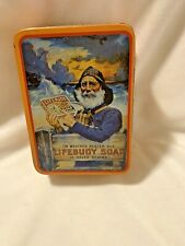 Lifebuoy Soap Tin Vintage Reproduction Bristolware Collectible Can Box Contain