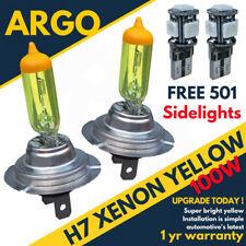 H7 Bombillas 100w Xenon Super Amarillo sumergido Faro Haz Principal 501 SMD LED