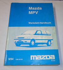 Werkstatthandbuch Grundhandbuch Mazda MPV Motor Bremsen Karosserie Elektrik,1994