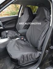 LANDROVER DISCOVERY 2 - Heavy Duty Black Waterproof Car Seat Covers Front Pair