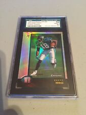 1998 Bowman Chrome Rookie Refractor Randy Moss ROOKIE RC #182 SGC 92/8.5