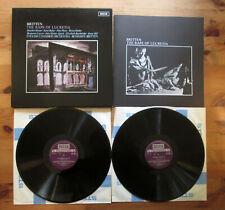 SET 492-3 Britten The Rape of Lucretia English Chamber Orchestra NEAR MINT 2xLP