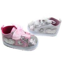Soft Touch chaussures bébé  basket blanc ou rose motif coeur fille 0 à12 mois