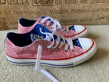 CONVERSE AMERICAN FLAG TRAINERS SIZE UK 5 IN GREAT CONDITION
