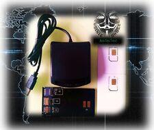 SIM card-SIM 4G Secure Card Reader Writer Cloner & Programmer-An0n7ech Blank Sim