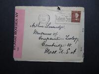 Ireland 1944 Dual Censor Cover to USA - Z10559