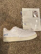 LeBron James Signed Nike AirForce 1 Size 14 (EXTREMELY RARE!!) JSA LOA