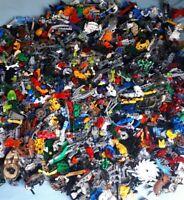 LEGO 1KG Bionicle Mixed Spare Parts Pieces Bulk Job Lot Bundle Weapon Good Clean