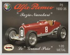 NEW REVIVAL INTERNATIONAL KIT ALFA ROMEO P3 NUVOLARI - years 1932/35 1:20