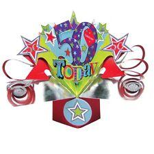 50e anniversaire pop-up Carte de vœux original seconde nature 3D CARTES POP UP