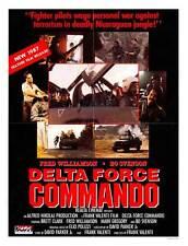 DELTA FORCE COMMANDO Movie POSTER 27x40