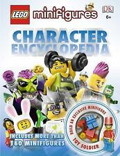 New LEGO Minifigures Character Encyclopedia [Hardcover] W/ Exclusive Mini Figure