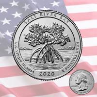🇺🇸 New coin US Quarter 25 cents, SALT RIVER BAY National Historical Park, 2020