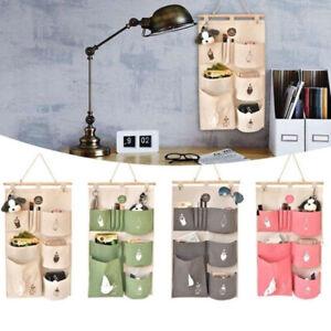 Hanging Storage Organizer Hanging Door Wall Caravan Kitchen Bag Pockets Holder