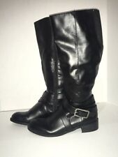 1fdbfc608c3e Life Stride 6M Black Tall Boots SUBTLE Wide Calf Comfort 1