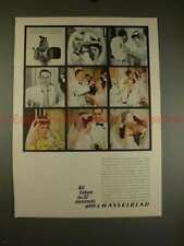 1963 Hasselblad 500C Camera Ad - All Taken in 37 Secs!!