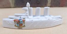 Crested China WW1 Royal Navy Battlecruiser Ship The Lion - Ramsgate