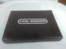 Vintage Vidal Sassoon Curling Brush Iron Travel Set/Case Model VS 125