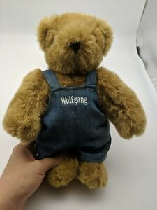 """Wolfgang AuthenticLight Brown Vermont Teddy Bear 11"""" Jointed Plush Toy"""